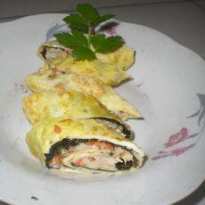 蛋皮海苔鸡肉卷