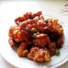茄汁鸡米花