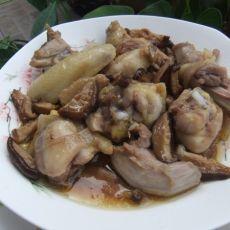 香菇蒸鸡肉的做法
