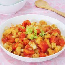 番茄鸡丁的做法