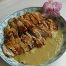 咖喱香炸鸡排的做法