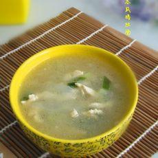 冬瓜鸡丝汤