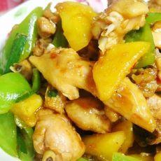 菠萝烧鸡的做法