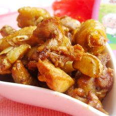 沙姜炒鸡的做法