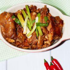辣椒酱炒鸡