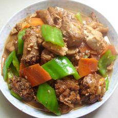 豆腐烧鸡肉