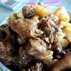 鸡炒土豆块