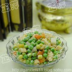 豌豆鸡丁的做法