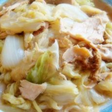 鸡肉手撕白菜的做法