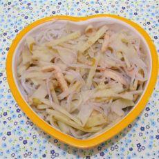 鸡肉藕条魔芋粉