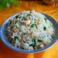 豇豆鸡丁炒米饭