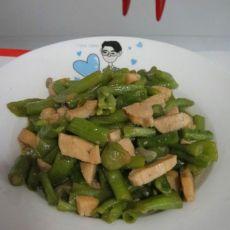 鸡丁炒豆角