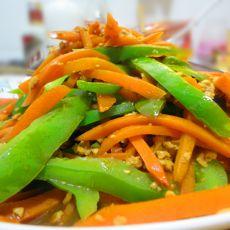 胡萝卜炒肉末