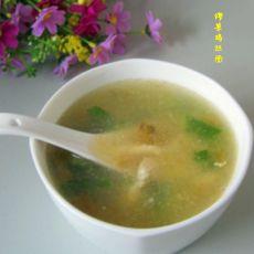 榨菜鸡丝汤