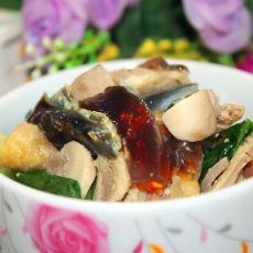 鸡丝菠菜汤