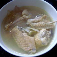 沙参玉竹煲鸡肉的做法
