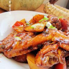 胡萝卜土豆烧鸡翅