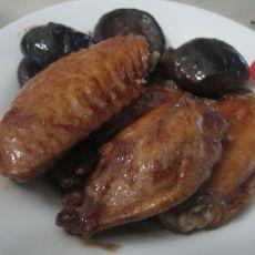 香菇耗油鸡翅