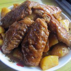 红烧鸡翅土豆块的做法