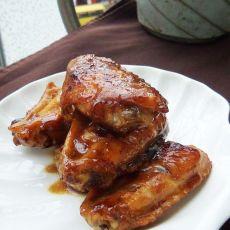 叉烧酱焖鸡翅