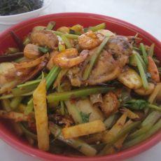 香辣鸡翅虾