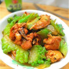 苦瓜焖鸡翅