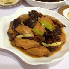 榛蘑炖鸡翅