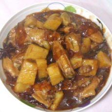 土豆粉条烧鸡翅