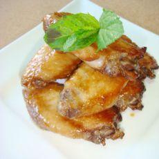 香烤海鲜酱鸡翅