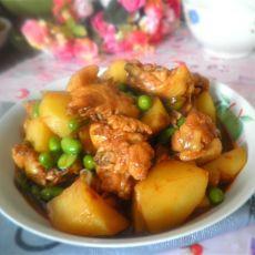 毛豆土豆烧鸡块的做法
