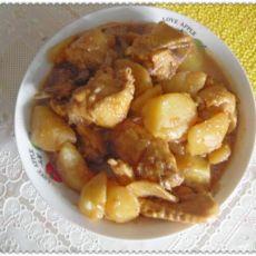 【原创】鸡翅炖土豆