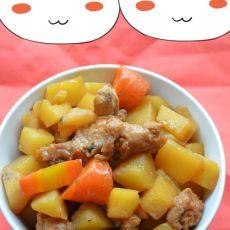 土豆荸荠烧鸡翅