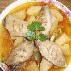 土豆烧鸡翅