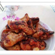 烤鸡翅----色彩与美味的撞击