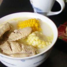 双色玉米鸡翅煲