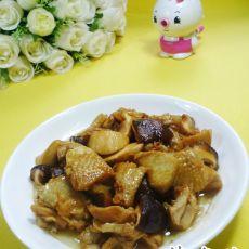 双菇炒鸡翅