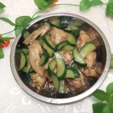 鸡翅炒青瓜