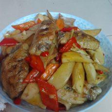 蚝油鸡翅杏鲍菇