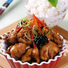 米酒烧鸡肉
