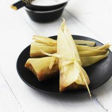 茶香玉米包的做法