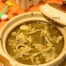泰式青咖喱鸡肉的做法