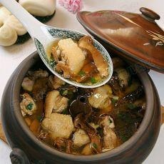 松茸汽锅鸡