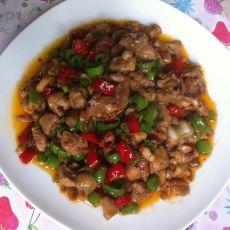 小米椒炒鸡丁的做法