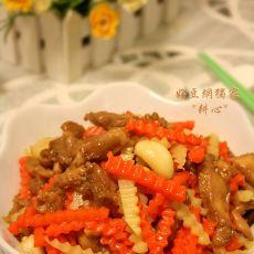 甘笋土豆炒鸡肉