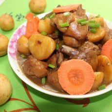 咖喱土豆鸡腿的做法