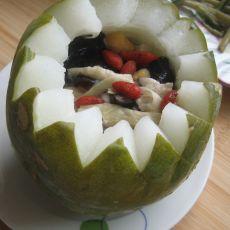 冬瓜盅的做法