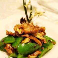 圆椒炒豉汁鸡腿肉