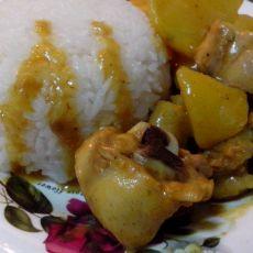 咖喱土豆烧鸡块的做法