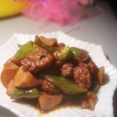 杏鲍菇炖鸡