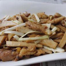 杏鲍菇炒鸡